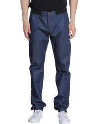 Alexander McQueen Denim Pants blue - Lyst