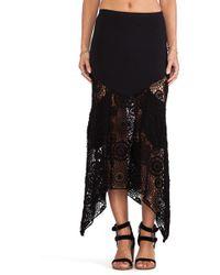 Nightcap - Maude Crochet Skirt - Lyst
