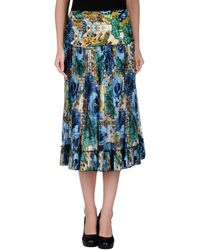 Matthew Williamson 34 Length Skirt - Lyst