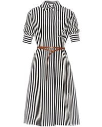 Altuzarra Kieran Striped Shirtdress - Lyst