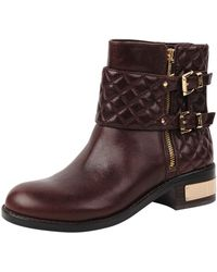 Vince Camuto Brown Winta Boot - Lyst