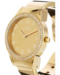 Boutique Moschino - Moschino Cheap And Chic Hold Me Gold Watch - Lyst