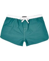 River Island Teal Runner Shorts - Lyst