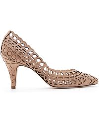 Loeffler Randall Tali Perforated Pump - Lyst