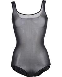 Wolford Bodysuit black - Lyst