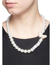 Venessa Arizaga - 'i'm A Unicorn' Necklace - Lyst