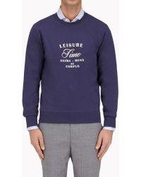 Brunello Cucinelli | Fleece T-shirt | Lyst