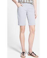 Jag Jeans 'Ainsley' Slim Bermuda Shorts - Lyst