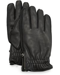 Portolano | Cashmere-lined Leather Gloves | Lyst