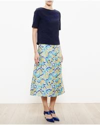 OSMAN Cloud Embroidered Top - Lyst