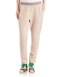 M.Patmos - Luxe Chevron Track Pants - Lyst