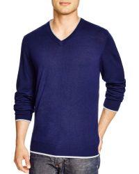 Robert Graham - Nolan V-neck Sweater - Bloomingdale's Exclusive - Lyst