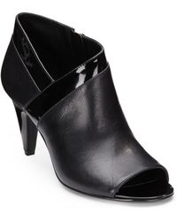 Bandolino Dalinda Leather Ankle Boots - Lyst