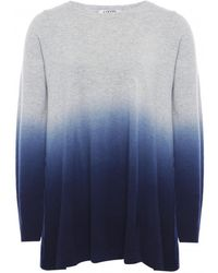 Cocoa Cashmere Dip Dye Ombre Sweater - Lyst