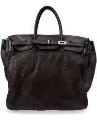 Numero 10 Black Holdall Bag - Lyst
