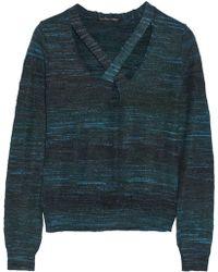 Theyskens' Theory Keno Cutout Slubjersey Sweater - Lyst