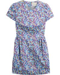 Mary Katrantzou Liv Printed Cotton Dress - Lyst