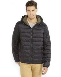 Levi's Reversible Hooded Puffer - Lyst