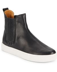 Loeffler Randall Crosby Leather Ankle Boots - Lyst