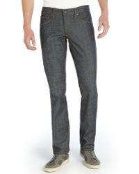 James Jeans Raw Stretch Denim Straight Leg Travis Jeans - Lyst