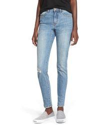 Billabong   'night Rider 99' Skinny Jeans   Lyst
