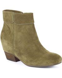 Lucky Brand Teddye Ankle Boots - Lyst