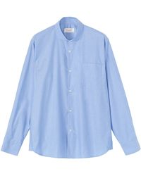 Toast Japanese Chambray Shirt - Lyst