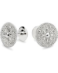 Alice Made This Theodore Silver Cufflinks - Lyst