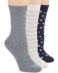 Kate Spade Fashion Socks Gift Set - Lyst