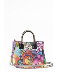 Milly Tropical Orchid Small Tote - Lyst