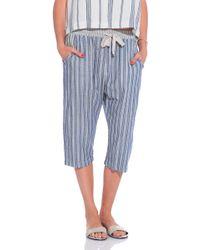 Sea Striped Drop Pants - Lyst