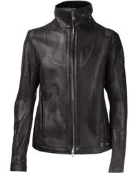 Obscur - Perforated Jacket - Lyst