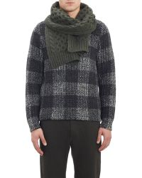 Rag & Bone - Cable-Knit Scarf - Lyst
