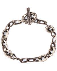 Henson - Distressed Chain Bracelet - Lyst