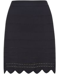 Chloé Lace Knit Skirt - Lyst