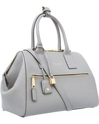 Marc Jacobs - Medium Mid Grey Incognito Leather Tote Bag - Lyst