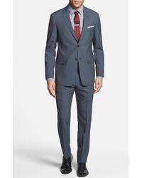 Todd Snyder Men'S Big & Tall Trim Fit Stripe Wool Suit - Lyst