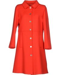Courreges Coat - Lyst