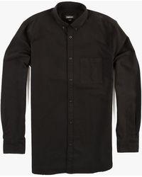 Zanerobe Seven Ft L/S Shirt brown - Lyst