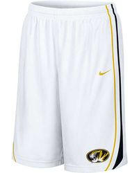 Nike Mens Missouri Tigers Replica Shorts - Lyst