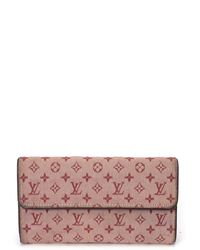 Louis Vuitton Pink Wallet - Lyst