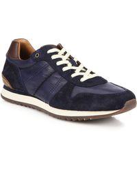 Frye Kane Sneakers blue - Lyst