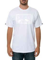 Crooks And Castles The Phantom Tee - Lyst