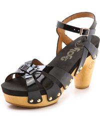 Flogg Fain Clog Sandals Natural - Lyst