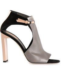 Reed Krakoff Atlas Cut Out Booties - Lyst