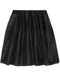 Simone Rocha Tulle and Lace Lantern Skirt - Lyst