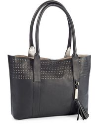 Calvin Klein B Perforated Tote - Lyst