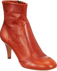 Barneys New York Side zip Ankle Boot - Lyst