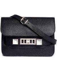 Proenza Schouler Ps11 Mini Classic Textured Leather Bag - Lyst