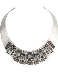 Philippe Audibert - Karenina Crystals Torque Necklace - Lyst
